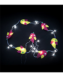 Li'll Pumpkins Birds Design Handcrafted Led Lights - Multicolour