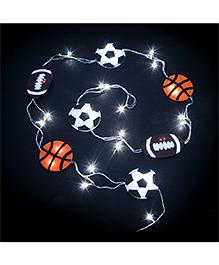 Li'll Pumpkins Sports Ball Design Handcrafted Led Lights - Multicolour