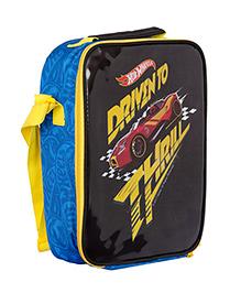 Hot Wheels Cross Body Lunch Box Bag - Black