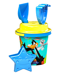 Demastil Looney Tunes Beach Sets Pack Of 4 - Blue Yellow