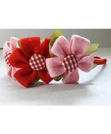 Sugarcart Lace Flower Design Hair Band - Multicolour