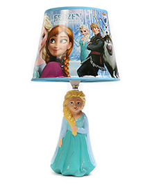Baby Oodles Ceramic Table Lamp Frozen Themed - Blue