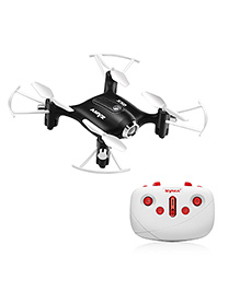 Toyhouse Drones X20 Pocket Drone Gyro Remote Controlled Quadcopter - Black