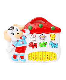 Toyhouse House Electronic Musical Piano - Multi Color