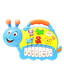 Toyhouse Snail Electronic Musical Piano - Multi Color