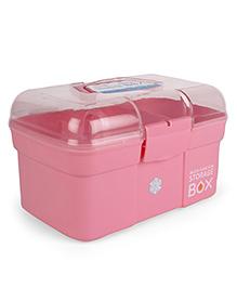 Multipurpose Storage Box With Handle - Pink