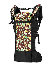 LuvLap Grand Baby Carrier With 2 Carrying Position Printed - Multi Color