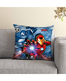 Marvel Avengers Printed Cushion - Blue Red