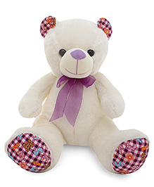 Dimpy Stuff Teddy Bear Soft Toy - White