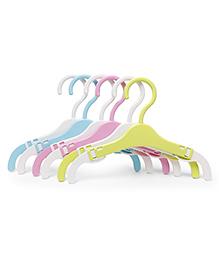Cloth Hangers Set Of 6 - Multi Colour