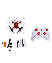Toyhouse Drone With HD Cam X11C 2.4G Gyro 4 CH RC Quadcopter - White