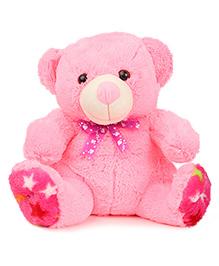 Liviya Sitting Teddy Bear Soft Toy Pink - Height 31 Cm