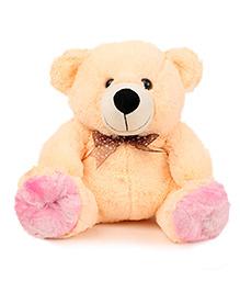 Liviya Sitting Teddy Bear Soft Toy Cream - Height 31 Cm