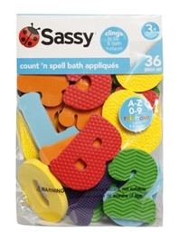 Sassy - Count N Spell Appliques