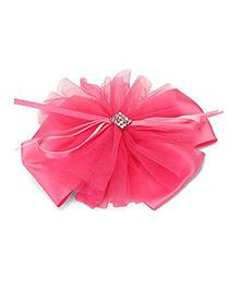 Funkrafts Bow Hair Clip - Pink
