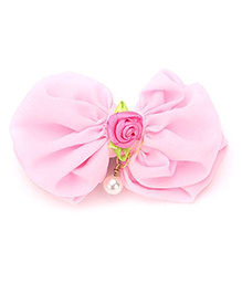 Funkrafts Double Bow Hair Clip - Pink