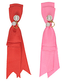 Funkrafts Tassel Design Hair Clip Combo Of 2 - Multicolor