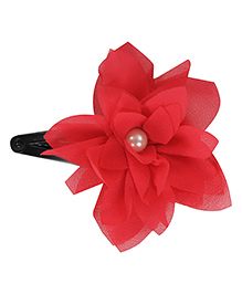 Funkrafts Flower Design Tic Tac Hair Clip - Pink