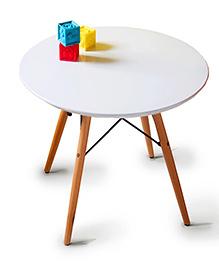 Abracadabra Round Activity Table - White