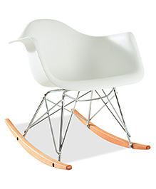 Abracadabra Rocking Chair - White