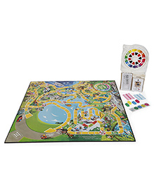 Hasbro Game Of Life Classic Board Game - Multicolor