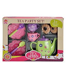 Magic Pitara Tea Play Set With Cookies Multicolor - 9 Piece