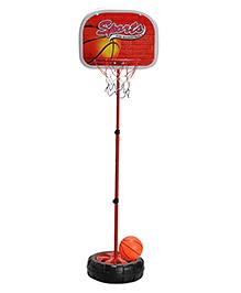 Magic Pitara Basketball Game Play Set - Red