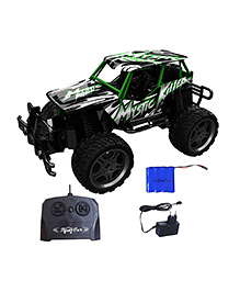 Webby Mystic High Speed RC Car - Black Green