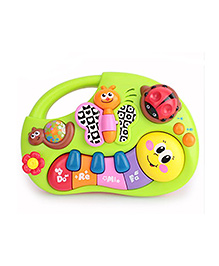 Webby Animal Themed Learning Piano Toy - Multicolor