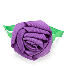 NeedyBee Rose Hair Clip - Purple