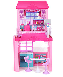 Barbie Glam Vacation House With Doll - 3 Years+