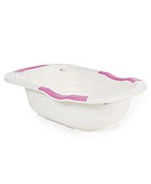 Baby Bath Tub - Pink White