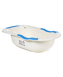 Baby Bath Tub - Blue White
