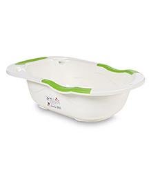 Baby Bath Tub - Green White