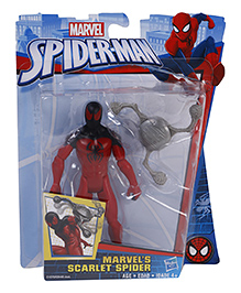 Marvel Spider-Man Toy Figure With Scarlet Spider Multicolor - 14 Cm