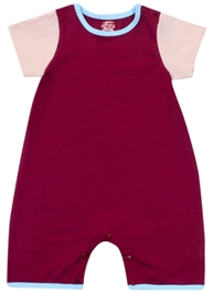 Little Heart - Short Sleeve Boys Romper