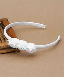 Babyhug Hair Band Crown Design - White