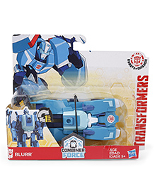 Transformers Combiner Force Blurr Figure Car - Blue