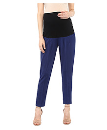 Mamacouture Maternity Pants Slim Fit - Navy