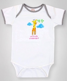 Little Heart -  Giraffe Printed Onsies