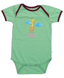 Little Heart - Giraffe Print Onesies