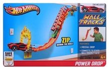 Hot Wheels - Wall Tracks Power Drop Track Set