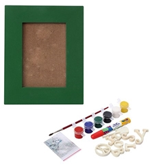 The Bright Side -  Do It Yourself Photo Frame Kit Green
