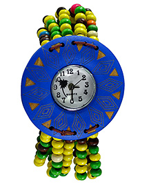 Angel Glitter Beaded Watch - Royal Blue