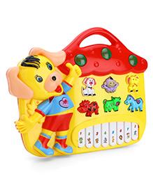 Toyhouse Puppy Electronic Music Organ Set - Yellow & Red