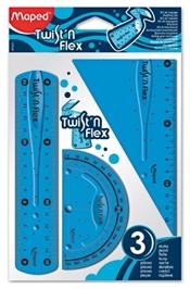 Maped - Twist N Flex 3 Pcs Geometry Set