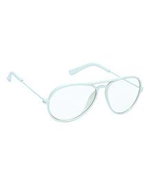 Glucksman Classic Aviator Kids Sunglasses - Light Blue