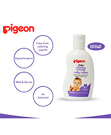 Pigeon Baby Milky Lotion 5 In 1 White - 200 Ml