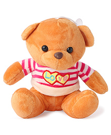 Skyloft Teddy Bear Soft Toy Orange  - Height 18 Cm