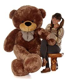 Skylofts Giant Teddy Bear Soft Toy Brown - Height 180 Cm